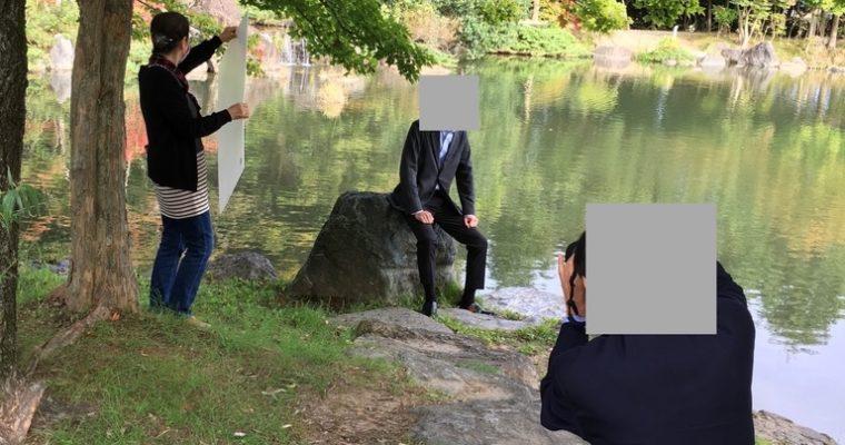近況:男性会員様のプロフィール写真撮影レポート♪